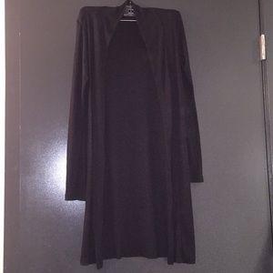Brandy Melville💕black long sleeve cardigan